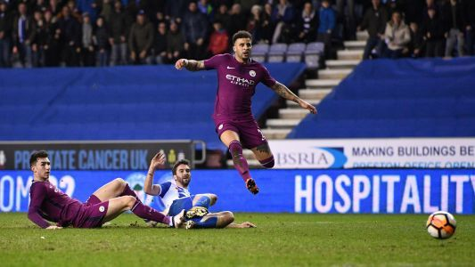 Manchester City's quadruple dream derailed by League One's Wigan in FA Cup