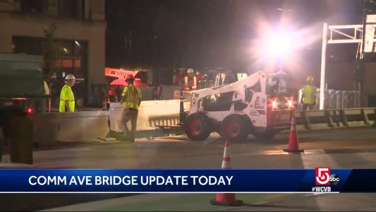 Comm Ave Bridge project set to begin