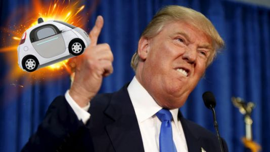 Like Most Americans, Trump Is Apparently Afraid of Self-Driving Cars