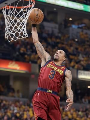 Cavs guard Hill to miss Game 5 vs. Pacers with back spasms