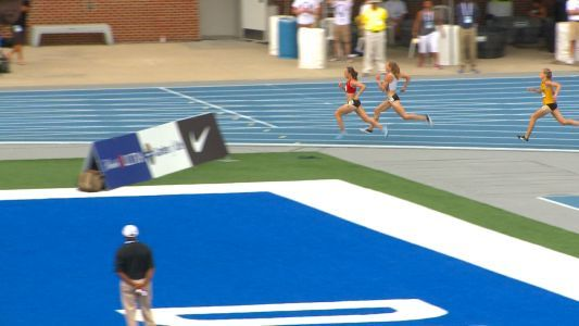 Houlihan wins 5000m over Schweizer, weather slows finish of Outdoor Championships