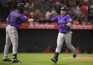 Trout, Ohtani homer as Angels rally past Rockies 10-7
