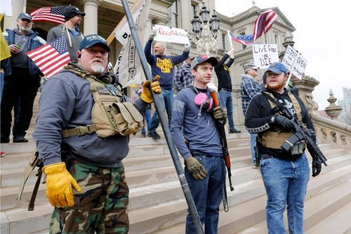 Gun sales are surging amid protests across the United States, and one Wall Street analyst says Joe Biden's polling lead could accelerate them even more