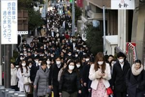 Virus limits next Tokyo Olympic test event to Japanese-only