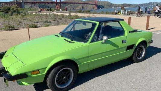 At $7,499, Could This Kermit Colored 1974 Fiat X1/9 Make it Easy Being Green?