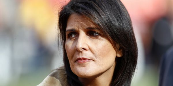 'Dissent is as American as apple pie': Trump's UN ambassador Nikki Haley insists that she challenges the president 'directly' in opinion column rebuking anonymous op-ed