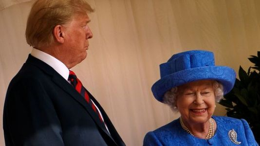 President Trump To Pay A State Visit To U.K. In June, At Queen's Invitation