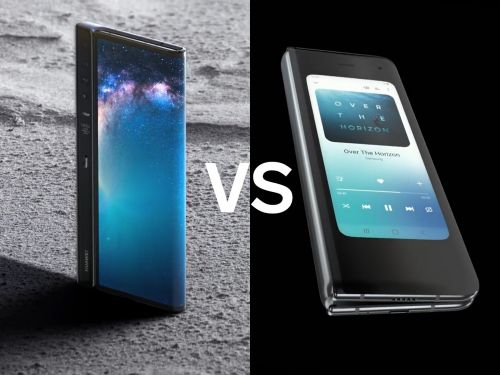 We compared the Samsung Galaxy Fold with the Huawei Mate X - and the winner was clear