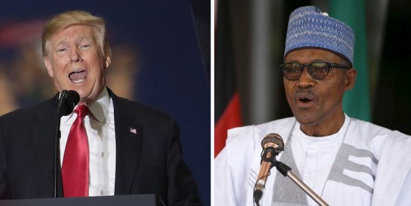 Trump doesn't deny calling African countries 'shitholes' while meeting with Nigeria's president