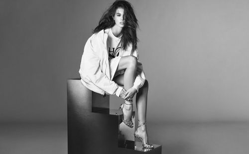 Kaia Gerber stars in the new Jimmy Choo campaign