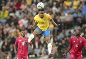 Brazil held by Panama to 1-1 in friendly played in Portugal