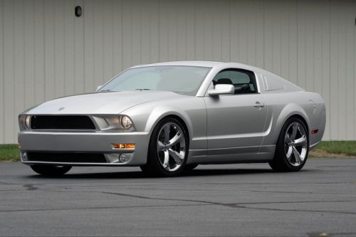 Ford's Limited Mustang Iacocca Silver Edition Is Set to Be Auctioned