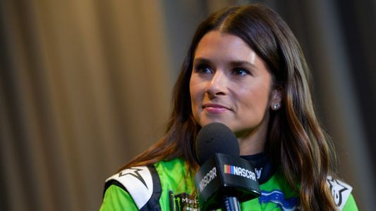 Danica Patrick shares beach photo with Aaron Rodgers