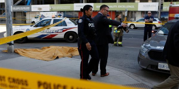 Timeline shows how the deadly Toronto van attack unfolded