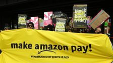 Amazon Workers Strike For Better Pay On Black Friday