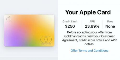 Goldman explains Apple Card algorithmic rejections, including bankruptcies