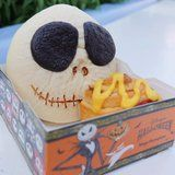 Tokyo Disneyland Has Jack Skellington Curry Bread - With Giant Chocolate Eyes!