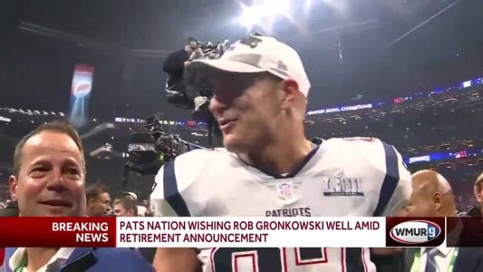 Belichick, Brady, Kraft wish Rob Gronkowski well following retirement announcement