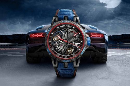 Roger Dubuis Utilizes Lamborghini Carbon Fiber in New Watch Range