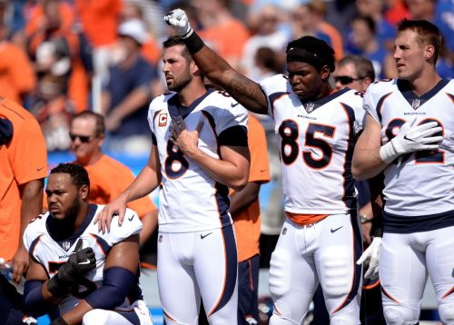 NFL owners reportedly consider 15-yard penalty for kneeling during national anthem