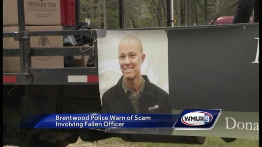 NH police warn of scam involving fallen officer