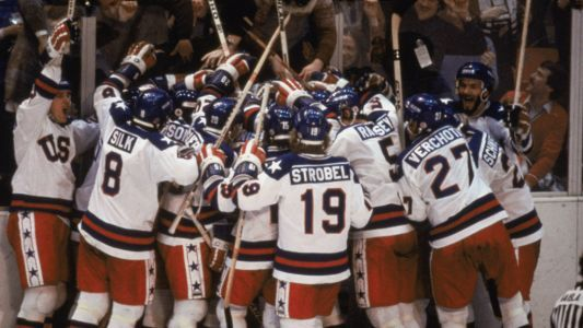 'Miracle On Ice' Team Honored In Las Vegas On 40th Anniversary
