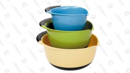 OXO's Popular Mixing Bowls Are $5 Off Today
