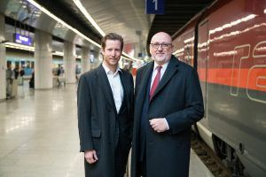 Austrian Airlines and ÖBB Welcome More Than 100,000 AIRail Passengers