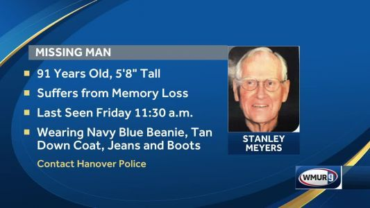 Hanover police and fire searching for missing man