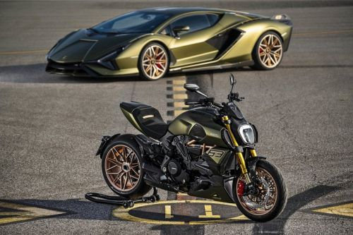 Lamborghini Joins Ducati for Sián FKP 37-Inspired Diavel Motorcycle