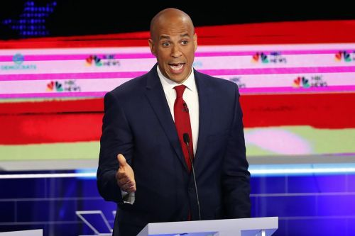 Who spoke the most during the first Democratic debate?