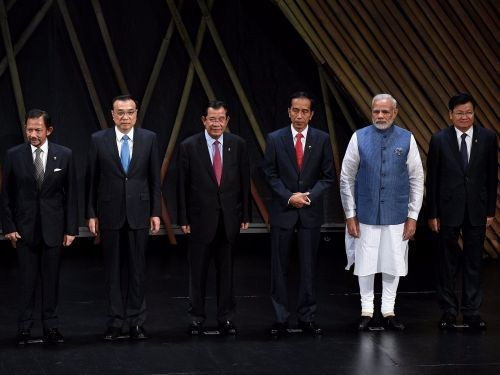 The South China Sea requires 'peaceful cooperation' says Southeast Asian nations