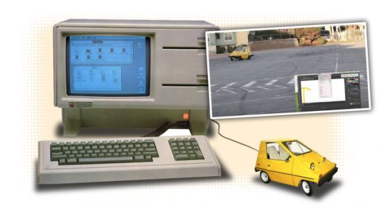 Delightful Nerds Turn A Car Into A Functional Computer Mouse