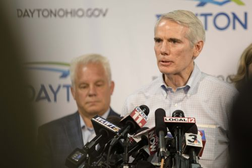 Emotional Rob Portman decries white supremacy and urges support for red flag laws