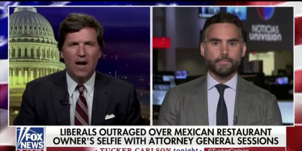'Those are my tacos. Mine!': Fox News host Tucker Carlson goes on bizarre rant about Mexican food and cultural appropriation