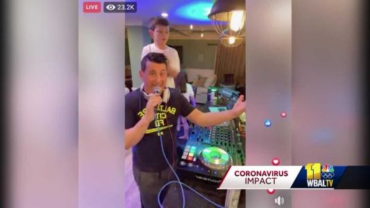Howard County DJ scores big donations to feed medical professionals amid coronavirus pandemic