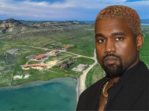 Kanye West is reportedly building a 10-bedroom mansion and 2 underground garages on his $14 million Wyoming ranch. Take a look at the sprawling property he bought last year