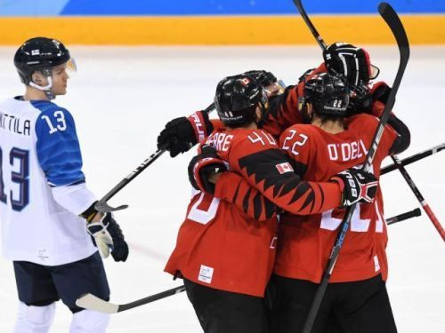 They're onto the semis: Canada ousts Finland from Olympics with hard work and a single goal