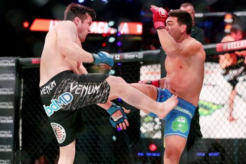 Lyoto Machida takes no joy in retiring 'legend' Chael Sonnen at Bellator 222