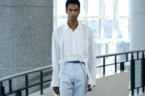 Sies Marjan SS20 Explores Male Fragility Through Texture and Color