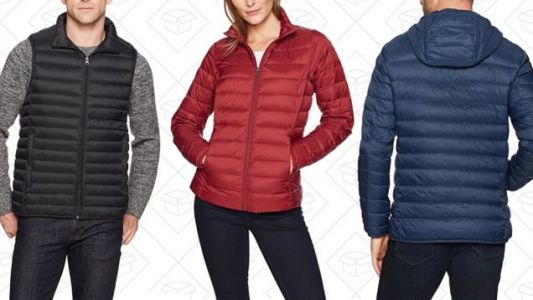 Amazon's Already-Affordable Down Vests and Jackets Are Even Cheaper Today