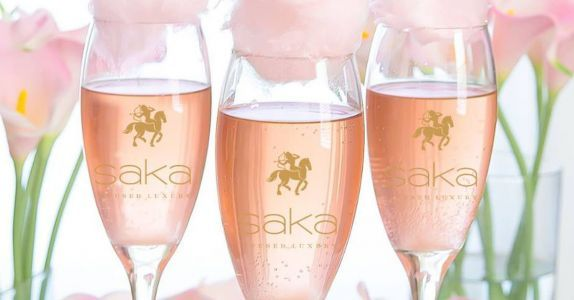 House of Saka Launches 'World's First' Sparkling Cannabis Rosé