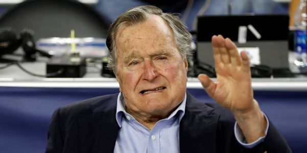 George H.W. Bush used his last words to tell his son he loved him