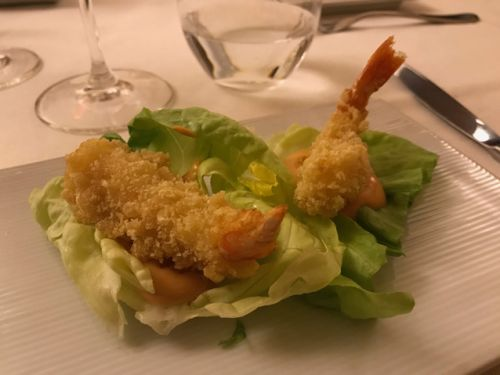 Barolo and seafood pair well at Il Grecale in Novello