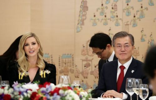 South Korea Rolls Out the Red Carpet for Ivanka Trump as She Arrives for Olympics Closing