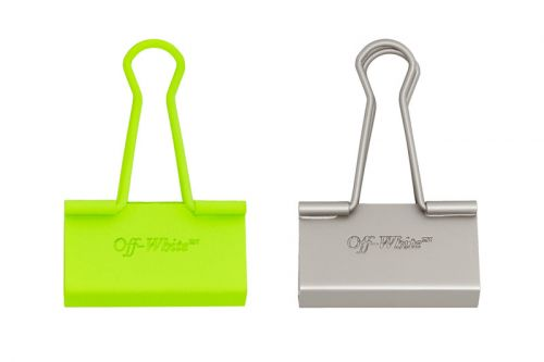 Virgil Abloh Continues His Office Obsession With These Off-White™ Binder Clips
