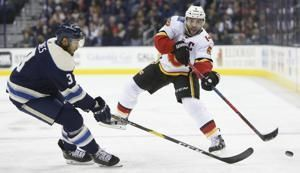 Flames' Giordano, Ryan Lomberg suspended; Peters fined