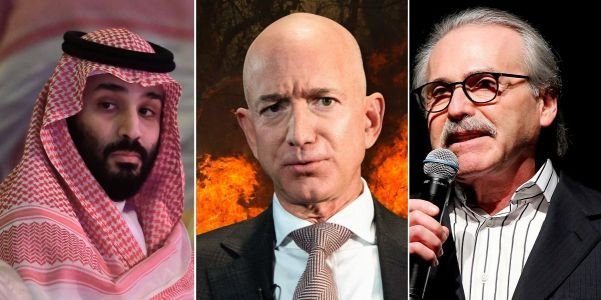 How the Saudis and the National Enquirer are linked to the alleged hacking and blackmail attempt against Jeff Bezos