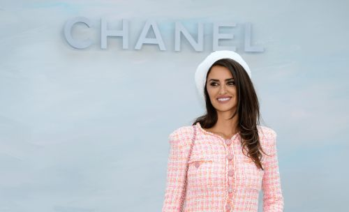 Penélope Cruz Looked Pretty and Prim to Attend Her First Show as Chanel Ambassador