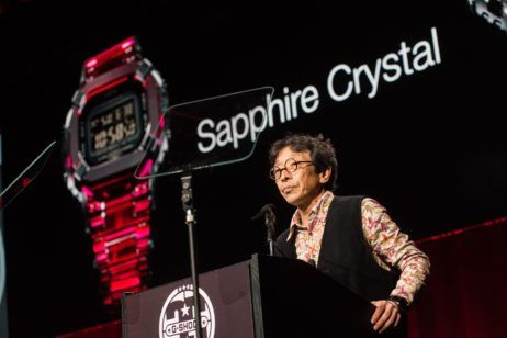 G-Shock Unveils Sapphire Crystal Watch Prototype